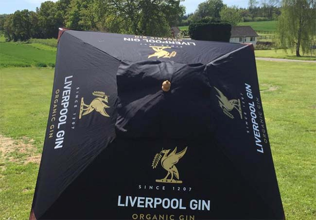 Liverpool Gin Umbrella