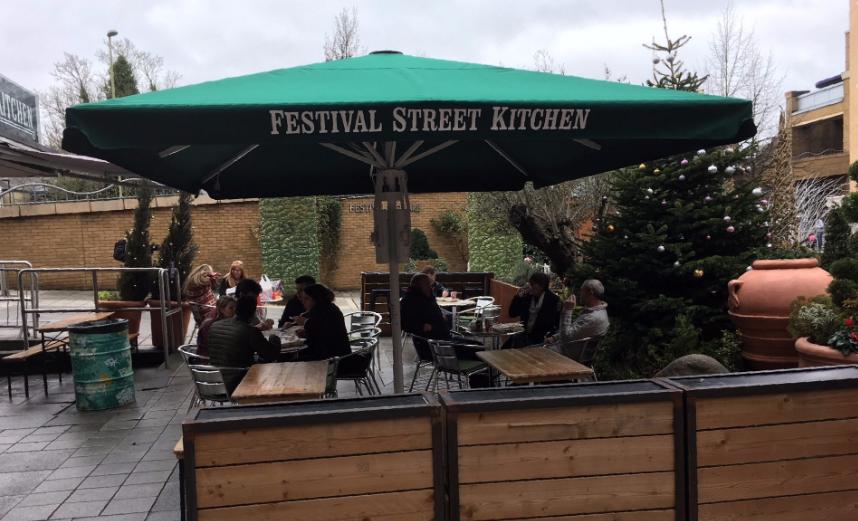 Festival Street Kitchen Umbrella