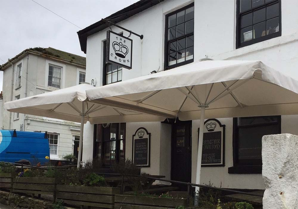 The Crown Bar Umbrellas