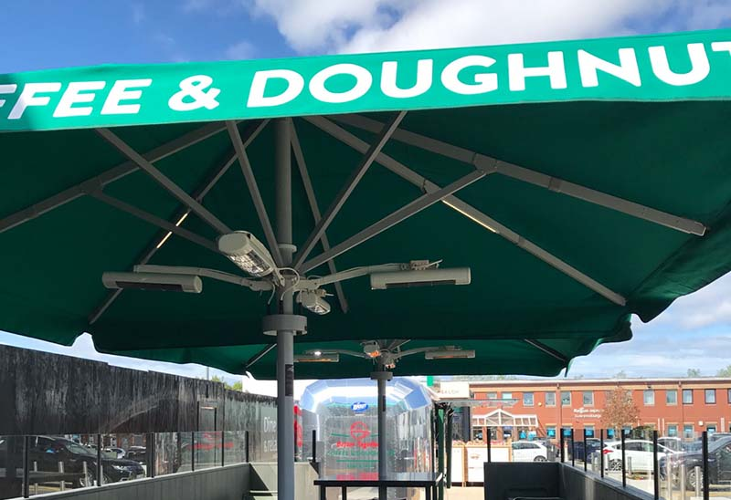Coffee & Doughnuts Umbrella